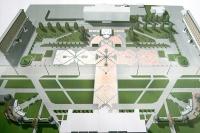 В Горках центральная площадь города будет в стиле «белорусского рушника» и с фонтанами