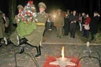 В Горецком районе прошли мероприятия по случаю 69-й годовщины битвы под Ленино