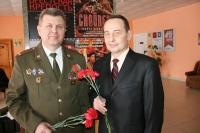 В Горках наградили офицеров