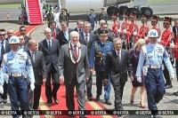 Лукашенко прибыл в Индонезию с первым в истории отношений двух стран визитом