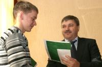 В Горках прошло чествование юношеских хоккейных команд «Мираж» и «Сокол»