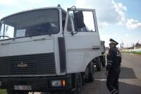 В ходе совместного рейда ГАИ и редакции газеты «Горецкий вестник» штраф за бесхозяйственность получили 2 перевозчика зерна