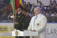 Лукашенко: юбилейному Рождественскому турниру в преддверии чемпионата мира по хоккею придается особое значение