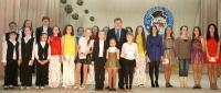 В Горецком районе талантливую творческую молодёжь наградили ежегодными премиями райисполкома