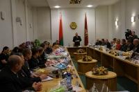 Торжественный прием воинов -интернационалистов прошел в Могилевском областном исполнительном комитете