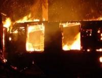 В Могилеве на пожаре погиб ребенок