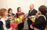 Четырем женщинам Могилевской области вручены ордена Матери