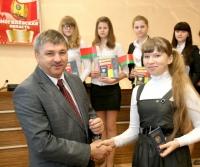 Юношам и девушкам Горецкого края, которые достигли возраста 14-16 лет, вручили главный в их жизни документ- паспорт!