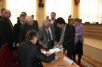 8 апреля 2014 года состоялась первая организационная сессия районного Совета депутатов 27 созыва