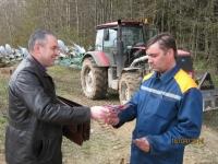 В Горецком районе чествуют лидеров посевной кампании