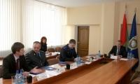 6 мая 2014 года председатель Следственного комитета Республики Беларусь В.Шаев работал в Горках