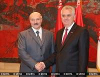 Переговоры Лукашенко и Николича проходят в Белграде