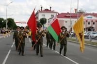 В районе  прошли торжественные мероприятия, посвящённые 70-летию освобождения от немецко-фашистских захватчиков.