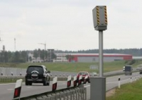 Количество датчиков контроля скорости увеличилось в Могилёвской области