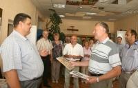 12 августа Горки приветствовали гостей из города побратима Ржев Российской Федерации