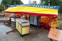 12 августа стихия бушевала в Могилёве. Фото.