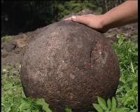 Каменное ядро нашли в Мстиславле.