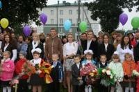 1 сентября в Горках снова открылись двери школ для учеников