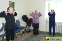 В здоровом теле здоровый дух или активный образ жизни Горецких пенсионеров