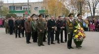 В Горецком районе прошли мероприятия, посвящённые 71-й годовщине битвы под Ленино