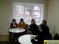 """14 ноября в Горках состоялось заседание за """"круглым столом"""" под названием """"Помоги человеку с белой тростью"""""""