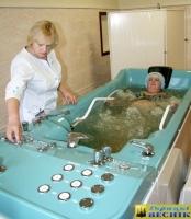 В Горецкой поликлинике установили современную ванную с гидромассажем для водолечения