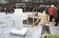 В воскресенье, 18 января, на Оршанском озере в Горках прошел обряд «Крещение»